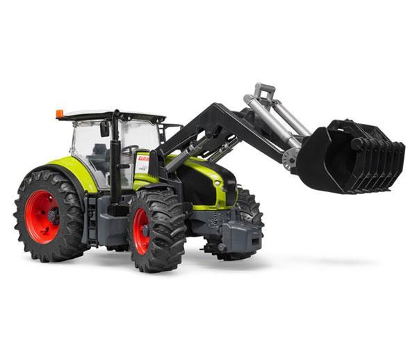 Tractor de juguete CLAAS Axion 950 con pala Bruder 03013 - Ítem2