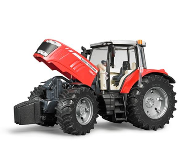Tractor de juguete MASSEY FERGUSON 7600 - Ítem2