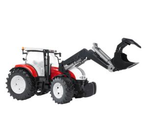 Tractor de juguete STEYR CVT 6230 con pala