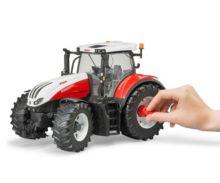 Tractor de juguete STEYR 6300 Terrus Bruder 3180 - Ítem1