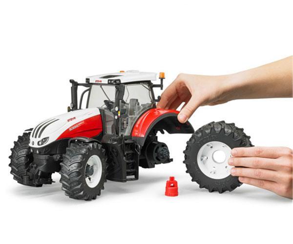Tractor de juguete STEYR 6300 Terrus Bruder 3180 - Ítem3