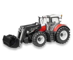 Tractor de juguete STEYR 6300 Terrus con pala Bruder 3181