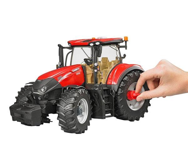Tractor de juguete CASE IH Optum 300 CVX Bruder 3190 - Ítem6