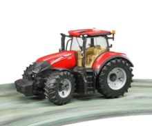 Tractor de juguete CASE IH Optum 300 CVX con remolque KRAMPE Bruder 03199 - Ítem4