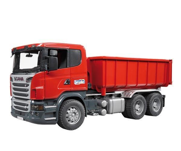 Camion de juguete SCANIA Serie R con contenedor