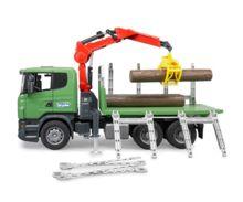Camion forestal de juguete SCANIA Serie R con tres troncos - Ítem2