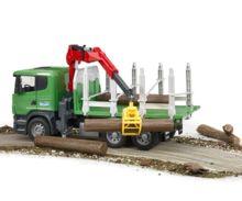 Camion forestal de juguete SCANIA Serie R con tres troncos - Ítem5