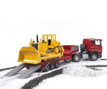 juguete scania con gondola y bulldozer caterpillar - Ítem4