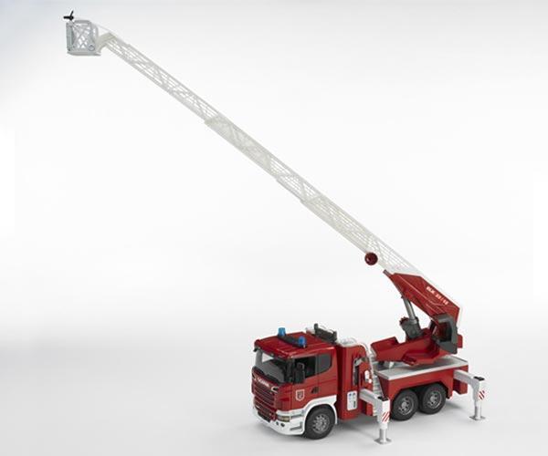 Camion bomberos de juguete SCANIA Serie -R - Ítem2