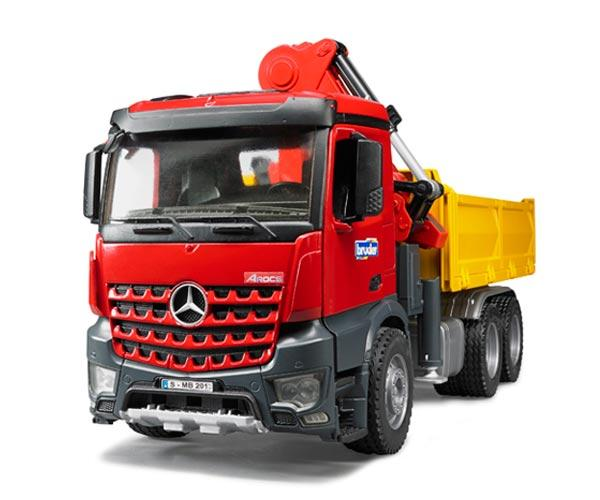 Camion grua de juguete MERCEDES BENZ MB Arocs LKW y accesorios - Ítem4