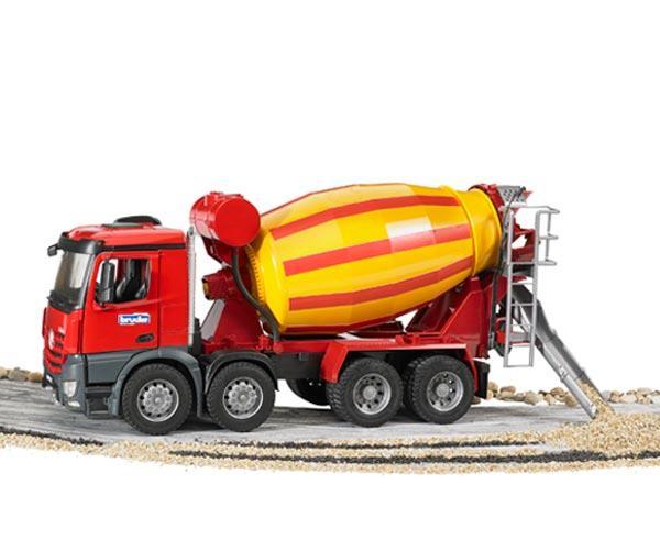 Camion hormigonera de juguete MERCEDES BENZ MB Arocs LKW - Ítem5
