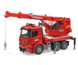 Camión grúa de juguete MERCEDES BENZ con luces y sonido Bruder 03670