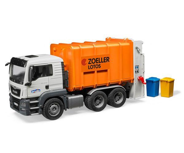 Camión de basura de juguete MAN TGS Bruder 03762