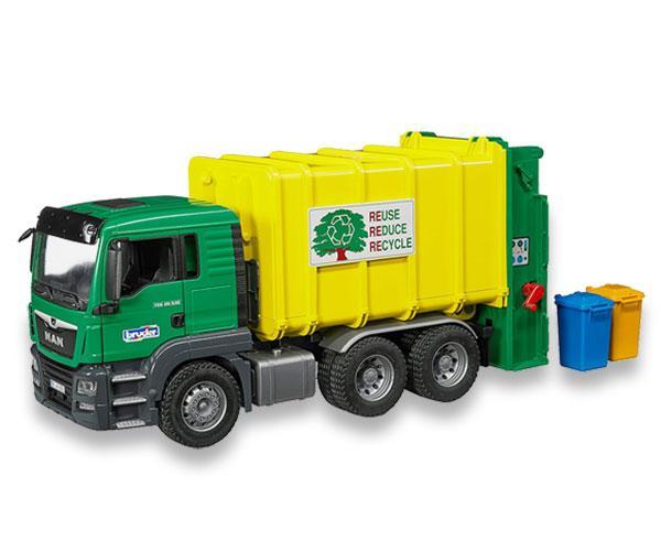 Camión de basura de juguete MAN TGS Bruder 3764