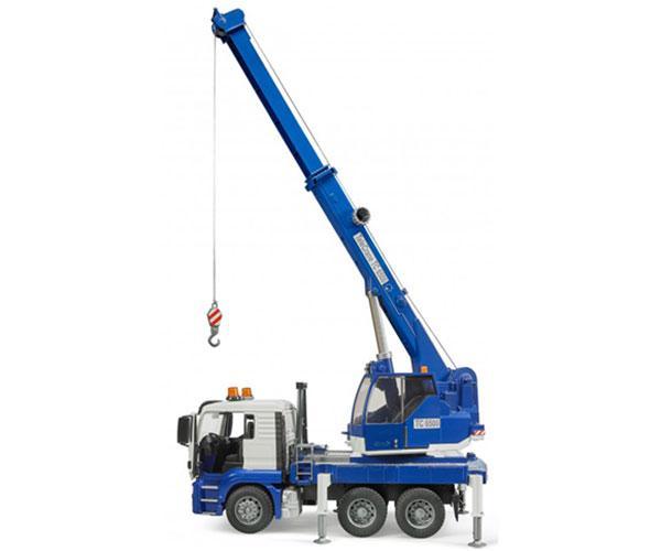 Camión grúa de juguete MAN TGS con luces y sonido Bruder 03770 - Ítem4