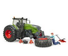 Tractor de juguete FENDT 1050 Vario con mecánico y accesorios Bruder 04041 - Ítem2