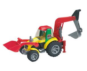 Retrocargadora de juguete