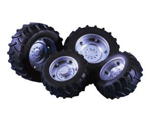Pack ruedas gemelas para tractores
