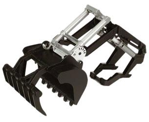 Pala frontal para tractores de juguete Top Profi Bruder 02317