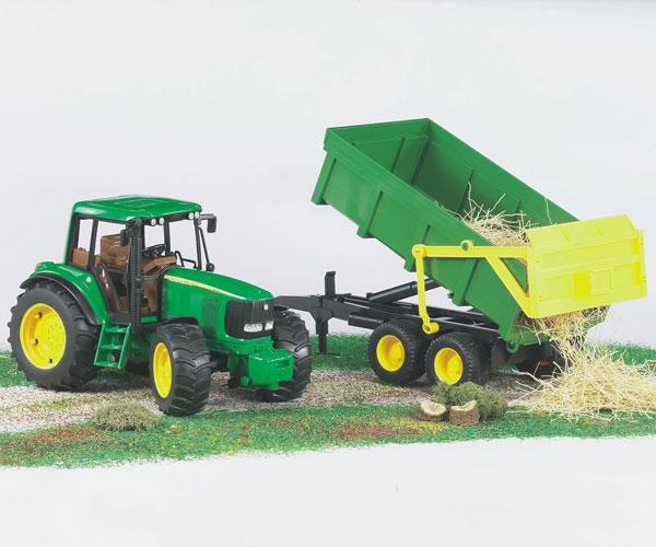 Tractor de juguete JOHN DEERE 6920 con remolque - Ítem2