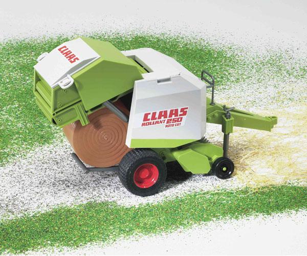 Empacadora de juguete CLAAS Rollant 250 Bruder 02121 - Ítem2