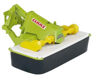 Segadora de juguete CLAAS disco 3050 FC Plus Bruder 02324