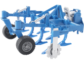 Cultivador de juguete frontal Bruder 02326