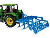 Cultivador de juguete LEMKEN Smaragd Bruder 02329