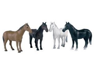 un caballo 3 modelos diferentes