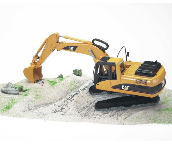 Excavadora de juguete CATERPILLAR - Ítem1