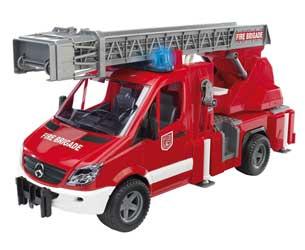 Furgón de bomberos de juguete MERCEDES BENZ Sprinter