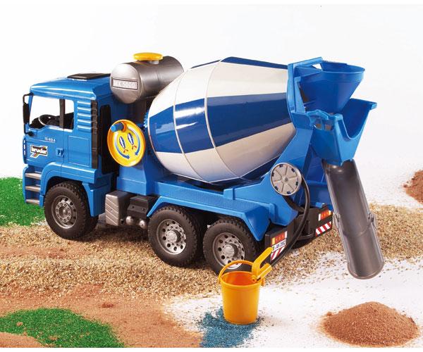 Camión hormigonera de juguete MAN TG 410 A - Ítem2