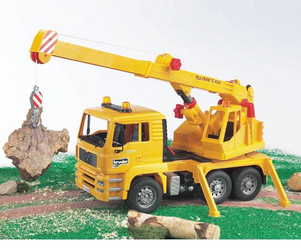 Camión de juguete MAN TG 410 A con grua TC4500 - Ítem2