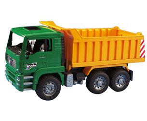 Camión dúmper de juguete MAN TG 410 A