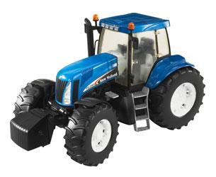 Tractor de juguete NEW HOLLAND T8040 - Ítem1