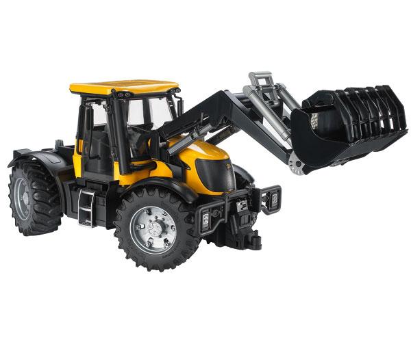 Tractor de juguete JCB Fastrac 3220 con pala