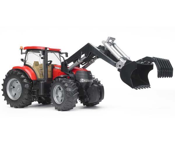 Tractor de juguete CASE IH CVX 230 con pala - Ítem1