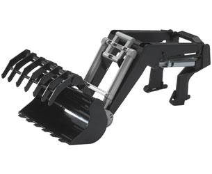 Pala frontal para tractores de juguete serie 03000 Bruder 03333