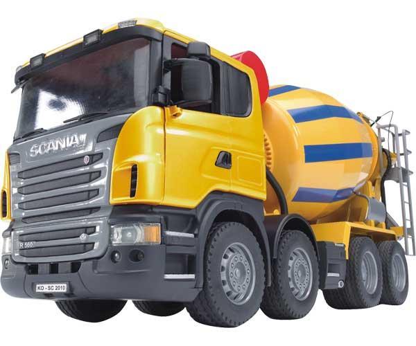 Camión hormigonera de juguete SCANIA Serie R