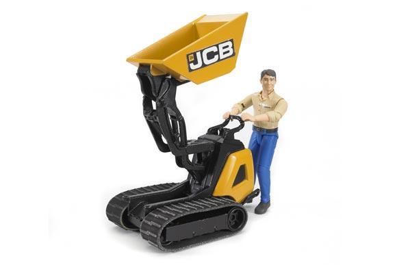 Minidumper de juguete JCB HTD-5 con conductor - Ítem2