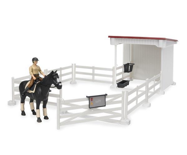 Pack vallado+caballo+jinete+obstáculos y setos - Ítem1