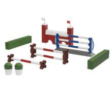 Pack caballo+jinete+accesorios+obstáculos y setos Bruder - Ítem2