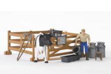 Pack granjero, vaca, vallado y accesorios - Ítem2