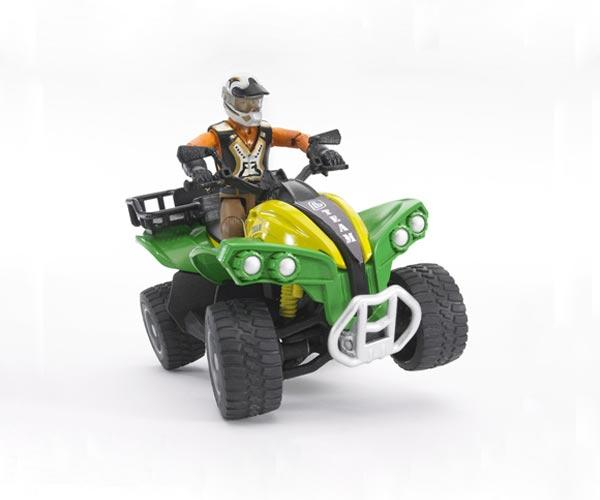 Quad de juguete con conductor - Ítem1