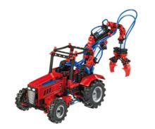 Kit montaje tractor PNEUMATICA con pinza fischertechnik 516185 - Ítem1