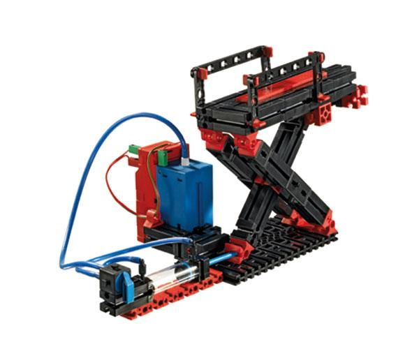 Kit montaje tractor PNEUMATICA con pinza fischertechnik 516185 - Ítem2