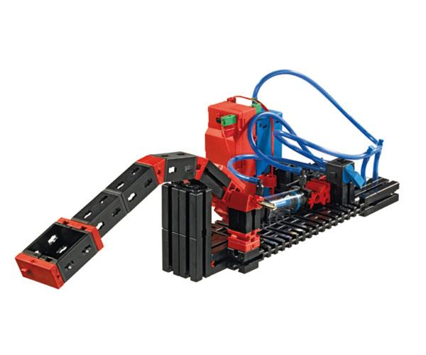 Kit montaje tractor PNEUMATICA con pinza fischertechnik 516185 - Ítem3