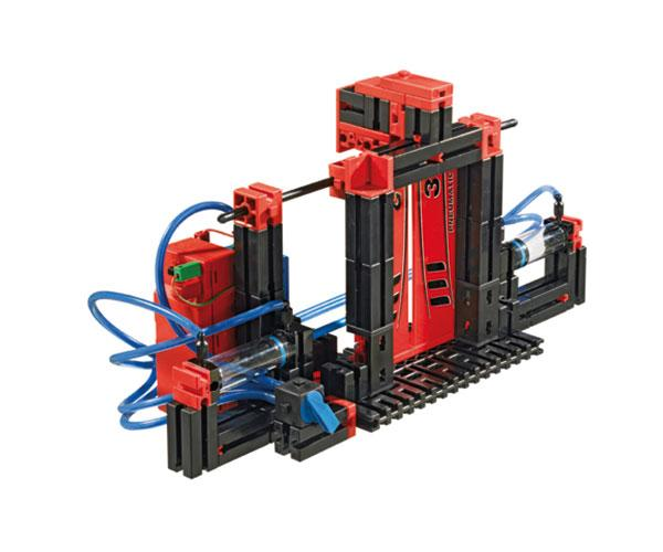 Kit montaje tractor PNEUMATICA con pinza fischertechnik 516185 - Ítem6