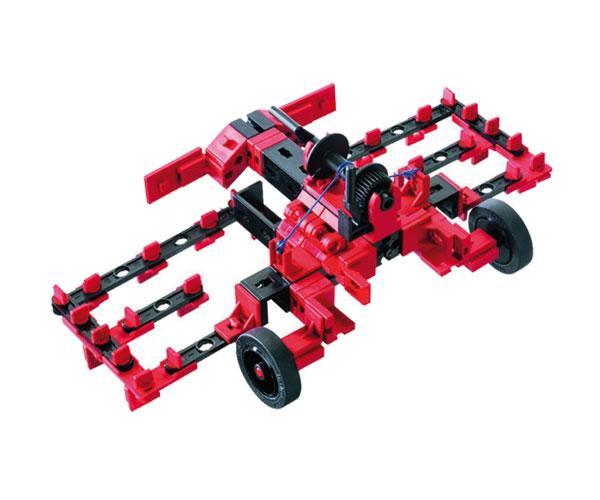 Kit de montaje tractor con apero RC Radio control fischertechnik 524325 - Ítem2