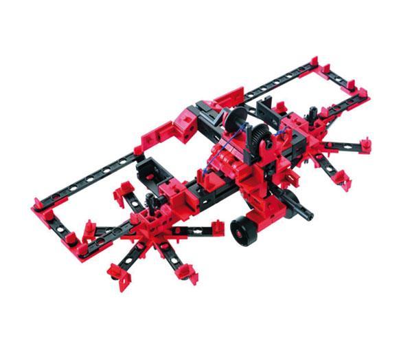 Kit de montaje tractor con apero RC Radio control fischertechnik 524325 - Ítem3